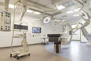 Einer der modernsten OP-Säle Europas: Seit dem Einzug der Neurochirurgie werden auch Hirntumore am Campus Mitte operiert