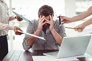 Studie: Der Körper schüttet verstärkt Stresshormone aus, wenn die Arbeit immer wieder unterbrochen wird