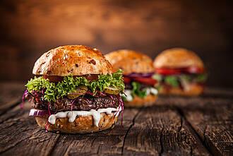 Burger, Fast Food, Ernährung, ÜbergewichtrS