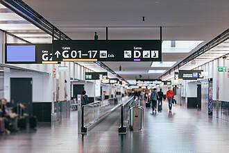 Reise, Flugreise, Flughafen