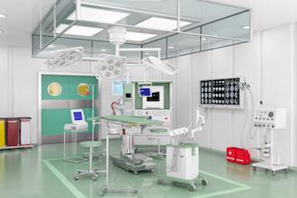 Arbeit im Krankenhaus belastet stark