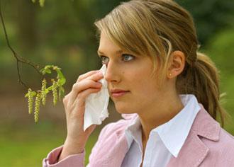 Frühe Birkenpollen setzen Allergikern zu