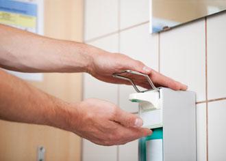 Händedesinfektion schützt vor Erkältungen