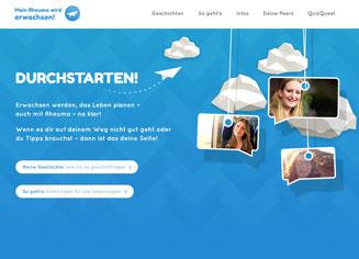 Die neue online-Plattform der Deutschen Rheuma-Liga: Junge Rheuma-Patienten tauschen sich aus
