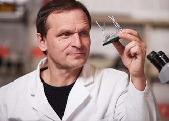Zwei-Organe-Chip soll Tierversuche überflüssig machen