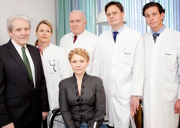 Das Ärzte-Team der Charité: Optimistisch, dass Julia Timoschenko wieder vollständig genesen wird