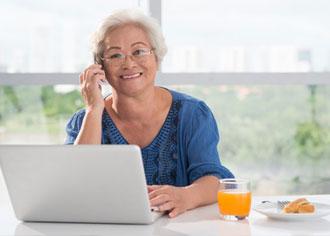 Mit Unterstützung geht es besser: Diabetikerin versucht mit Hilfe von Telefon-Coaching dauerhaft abzunehmen