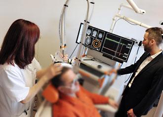 "navigierte transkranielle Magnetstimulation - nTMS: Neue Chancen bei ""inoperablem"" Hirntumor"