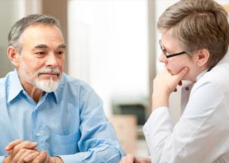 Krebspatienten fühlen sich von Onkologen gut versorgt