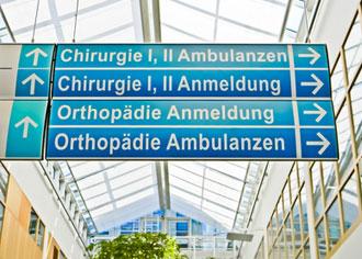 Universitätskliniken dürfen jetzt mit einem Markenzeichen werben