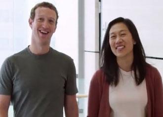 Ehepaar Chan Zuckerberg: Wollen medizinische Grenzen verschieben