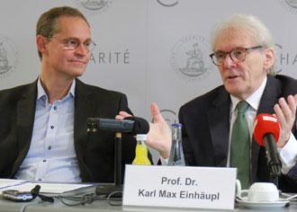 Müller, Einhäupl zur Zukunft der Charité: Stehen vor einem Jahrzehnt der Investitionen
