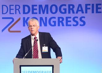 Demografiekongress 2017: Der demografische Wandel ist nach Ansicht des Ökonomen Prof. Thomas Straubhaar ein Mythos. Nicht alle Experten sehen das so
